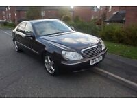 Mercedes S350 2004 LPG gas converted 60+ MPG S class
