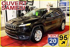 2015 Jeep Cherokee LIMITED *AWD * V6 *CUIR *