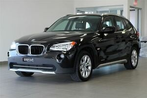 2012 BMW X1 28i AWD/CUIR/TOIT/PANO/MAGS