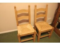 Beech dining chairs for sale
