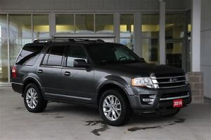 2016 Ford Expedition Limited 4WD 8 Psgr Luxury SUV Certified Pre
