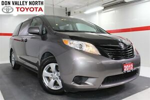 2012 Toyota Sienna V6 Cruise Alloys Pwr Wndws Mirrs Locks A/C