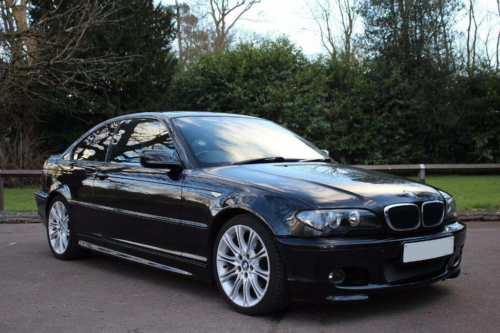 2004 bmw e46 320 cd sport auto black not m3 318ci 330d 330 325ci in st albans hertfordshire. Black Bedroom Furniture Sets. Home Design Ideas