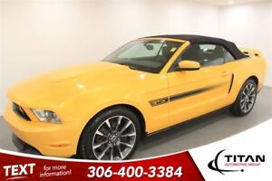 2012 Ford Mustang GT 6 Spd Manual Bluetooth  Leather Nav