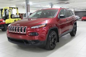 2015 Jeep Cherokee SPORT PLUS 4X4 *SIEGES+VOLLANT CHAUF/CAMERA R