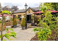 Experienced energetic and bubbly bar and waiting staff