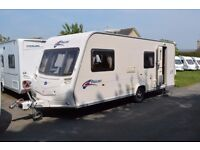 Bailey Pageant Bretagne 2008, six berth, touring caravan for sale with service and warranty included