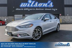 2017 Ford Fusion SE LEATHER TRIM! SUNROOF! REAR CAMERA! POWER DR