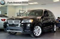 2013 BMW X3 EXECUTIVE/ PREMIUM/ GAR 160 000 KM