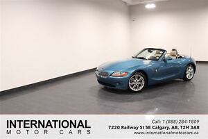 2004 BMW Z4 3.0 LITRE ROADSTER! VERY CLEAN!