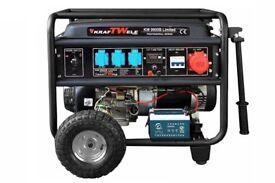 Generator KRAFTWELE KW9800 LIMITED 3PHASE PETROL 9,8KW