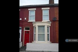 3 bedroom house in Tabley Road, Liverpool, L15 (3 bed)
