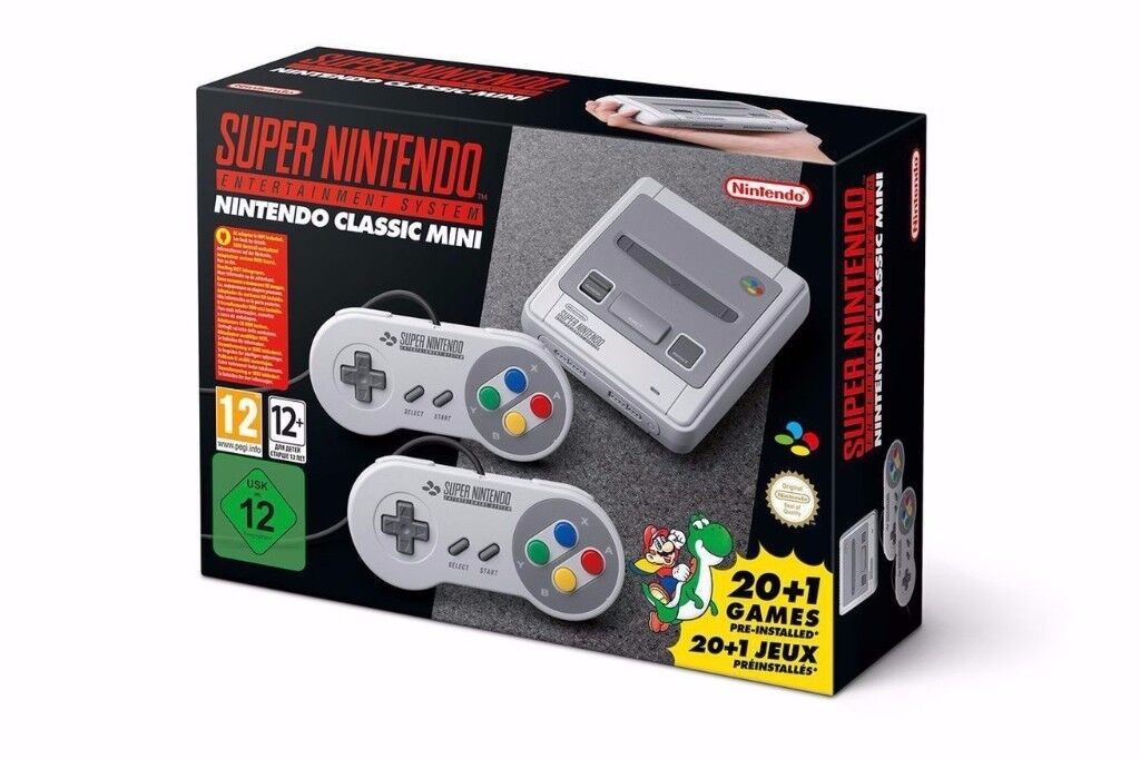 NEW Snes Mini Classic (Super Nintendo)