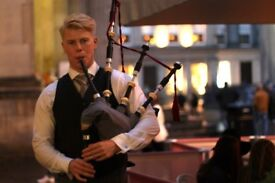BAGPIPER WEDDING PIPER - £200 OFFER