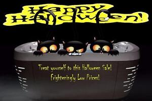 Spooky Hot Tub Savings On Now!