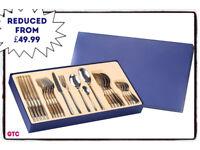 Premium Gift Box Set - 26 PCS Stainless Steel Cutlery Set