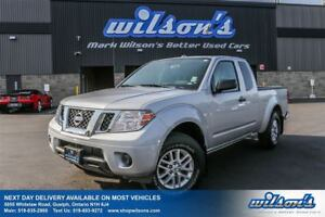 2015 Nissan Frontier SV 4WD EXTENDED CAB! BED LINER! TOW PACKAGE