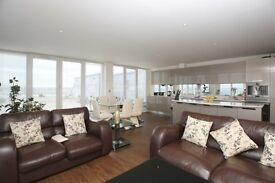 RIVER VIEWS FROM 17TH FLOOR***MODERN 3 BED 2 BATH APARTMENT IN ROYAL DOCKS DOCKLAND CANARY WHARF***