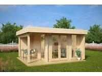 BESPOKE GARDEN OFFICE'S BUILT TO YOUR DESIGN ANY SHAPE OR SIZE From £1999