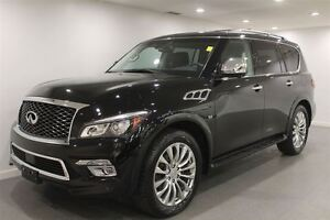 2016 Infiniti QX80 Auto Fully Loaded 7 Pass 13592 Kms!!