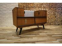 Scandinavian Style RETRO SIDEBOARD, DRESSING TABLE WITH MIRROR,DRAWERS,VINTAGE (free delivery)