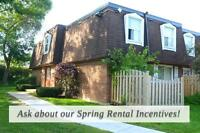 Kitchener Townhomes - One Month Free Rent!
