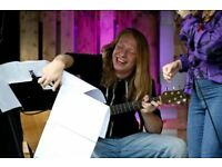 Online Lessons for Beginner or Intermediate Electric, Acoustic and Bass Guitar Players