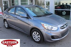 2016 Hyundai Accent FWD GREAT ON GAS! LOW KM