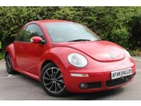 Volkswagen Beetle TDi 3dr **FULL LEATHER SEATS** (red) 2006