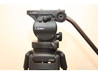 Libec LX10 100mm very solid head with Libec RT50B two stage aluminum tripod legs