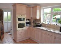 Lime Oak full kitchen for sale. Excellent condition.