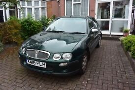 Rover 25 diesel 5 door BRG 1999 - one owner