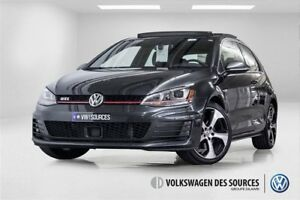 2015 Volkswagen Golf GTI 3-Door Autobahn NAV / GPS + TOIT PANO