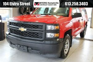 2014 Chevrolet Silverado 1500 1WT 5.3 V8 with Cap and tow pkg.