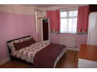 A specious double room in a big family house