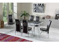 🍒🔥🔥BEST SALES, BEST BUY🔥🔥ON FIERY EXTENDABLE DINING TABLE WITH 6 CHAIRS
