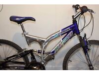 FULL SUSPENSION EXCELLENT CONDITION MOUNTAIN BIKE/ BICYCLE