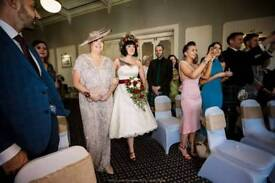 Mother of the Bride Dress and Hat