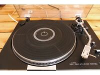 Great condition direct drive turntable / record player JVC JL-A40 Brand new stylus