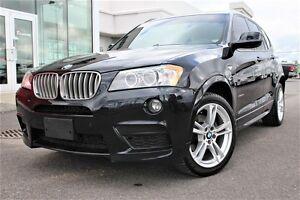 2013 BMW X3 XDRIVE35i+M PACK PERFORM.+NAV+CUIR+RARE+++
