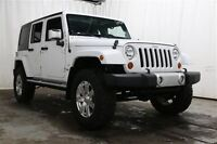 2013 Jeep Wrangler UNLIMITED SAHARA 4WD AUTO A/C MAGS