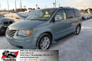 2010 Chrysler Town & Country Limited Navi 2 DVD Leather Sunroof