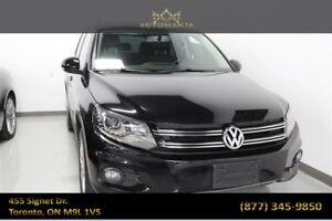 2013 Volkswagen Tiguan Comfortline|NAVI|SUNROOF|LEATHER