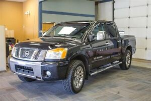 2012 Nissan Titan SL *Leather *Sunroof *Bluetooth *Crew Cab *4x4