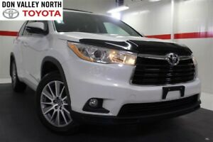 2016 Toyota Highlander XLE V6 AWD Sunroof Nav Btooth Heated Lthe