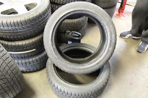 2 ALMOST NEW WINTER TIRES: Champiro GT-Radial WT-AX 235/45/R17