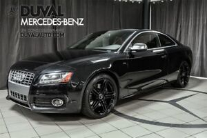 2011 Audi S5 V8 4.2 (M6)/ CUIR ROUGE 354hp