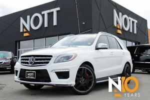 2015 Mercedes-Benz M-Class ML63 AMG + Driver Assist PKG