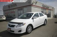 2010 Toyota Corolla Safe, reliable, and fuel efficient!