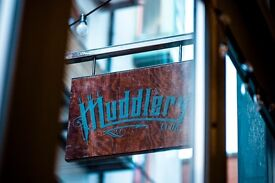 MUDDLERS CLUB- CHEF REQUIRED